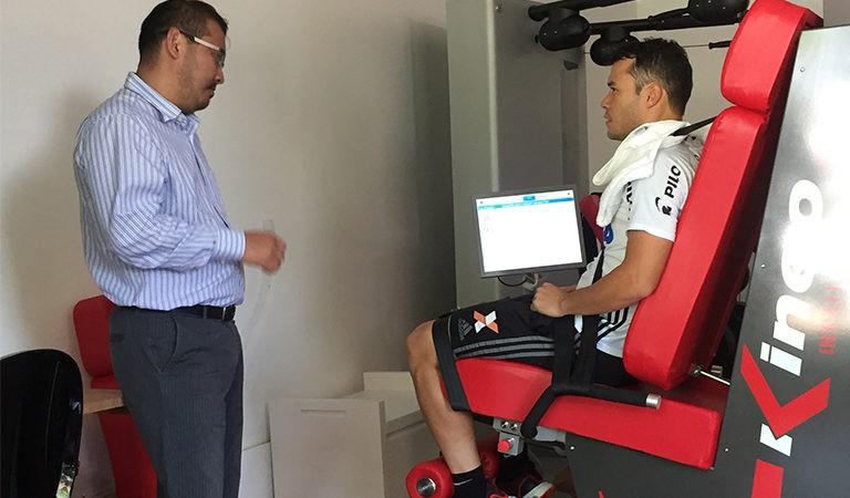 Treinamento e Reabilitação de Renato Cajá, no Instituto Mood