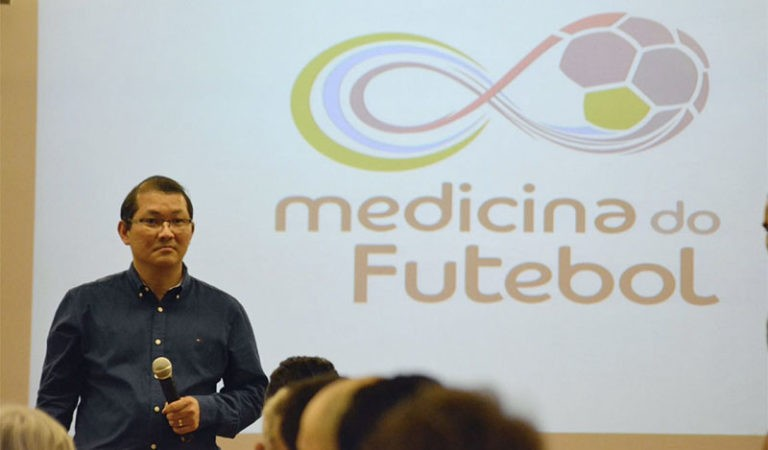 Instituto Mood sedia 1º Encontro de Medicina do Futebol
