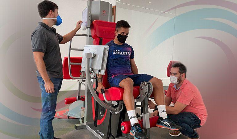 Reabilitação de atletas