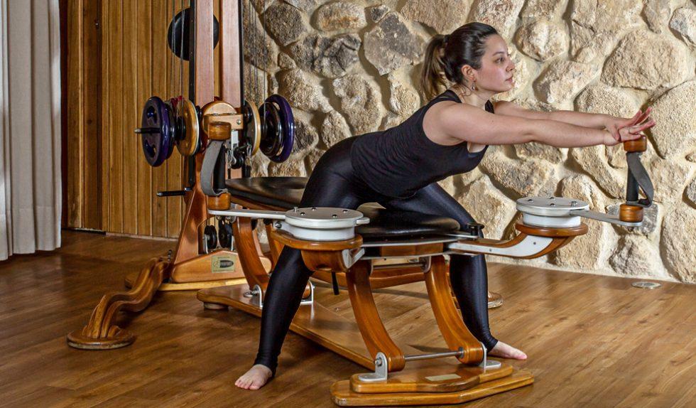 O despertar da coluna vertebral através do sistema Gyrotonic®